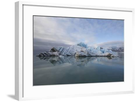 Europe, Norway, Svalbard. Drifting Ice from Monaco Glacier-Jaynes Gallery-Framed Art Print