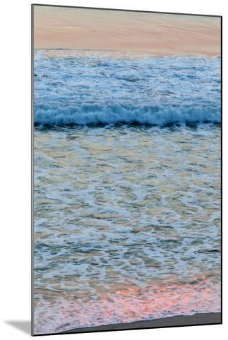 Dawn Colors Reflect in the Surf on Marconi Beach in the Cape Cod National Seashore-Jerry and Marcy Monkman-Mounted Photographic Print