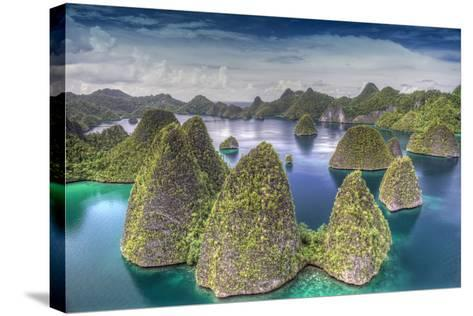 Indonesia, West Papua, Raja Ampat. Wayag Island Landscape-Jaynes Gallery-Stretched Canvas Print