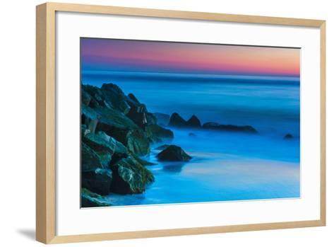 New Jersey, Cape May National Seashore. Seashore Landscape-Jaynes Gallery-Framed Art Print