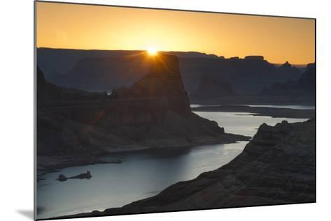 Utah, Glen Canyon National Recreation Area. View from Alstrom Point Overlook, Gunsight Butte-Judith Zimmerman-Mounted Photographic Print