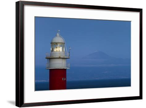 Spain, Faro Punta De San Cristobal Lighthouse-Walter Bibikow-Framed Art Print