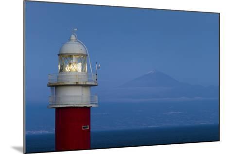 Spain, Faro Punta De San Cristobal Lighthouse-Walter Bibikow-Mounted Photographic Print
