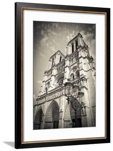 Notre Dame Cathedral, Paris, France-Russ Bishop-Framed Art Print