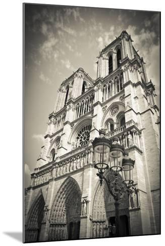 Notre Dame Cathedral, Paris, France-Russ Bishop-Mounted Photographic Print