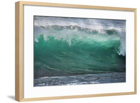 California, La Jolla. Shorebreak Wave-Jaynes Gallery-Framed Art Print
