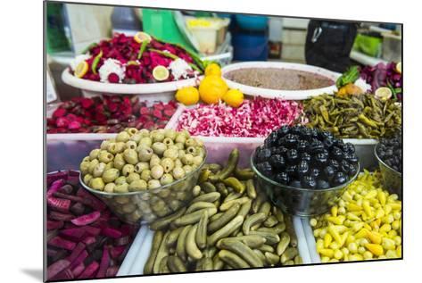Kurdish Food in the Bazaar of Sulaymaniyah. Kurdistan, Iraq-Michael Runkel-Mounted Photographic Print