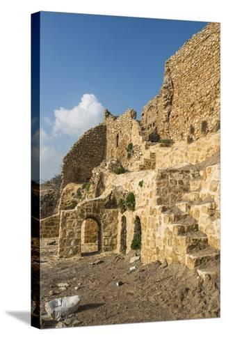 Syrian Orthodox Monastery Mar Mattai Overlooking Mosul, Iraq-Michael Runkel-Stretched Canvas Print