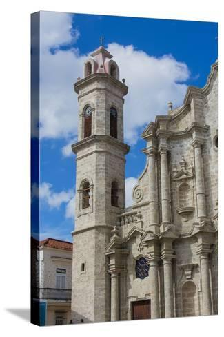 Cuba. Havana. Old Havana. Cathedral of the Virgin Mary of the Immaculate Conception, 1777-Inger Hogstrom-Stretched Canvas Print