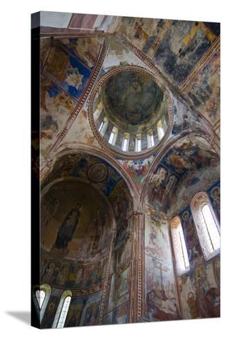 Monastery Gelati Near Kutaisi, Georgia, Caucasus-Michael Runkel-Stretched Canvas Print