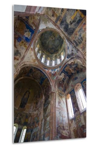 Monastery Gelati Near Kutaisi, Georgia, Caucasus-Michael Runkel-Metal Print