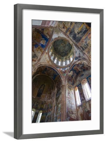 Monastery Gelati Near Kutaisi, Georgia, Caucasus-Michael Runkel-Framed Art Print