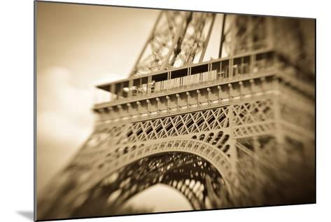 Detail of the Eiffel Tower, Paris, France-Russ Bishop-Mounted Photographic Print