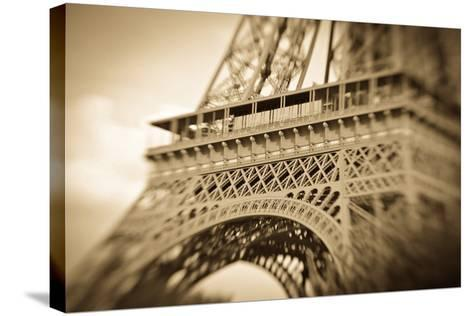 Detail of the Eiffel Tower, Paris, France-Russ Bishop-Stretched Canvas Print