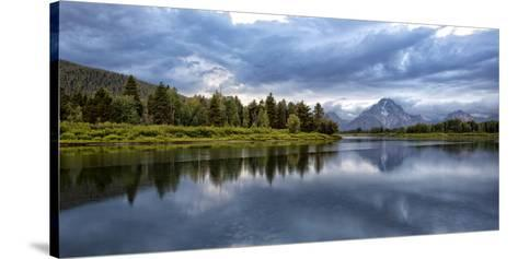 Wyoming. Oxbow Bend of the Snake River-Jaynes Gallery-Stretched Canvas Print