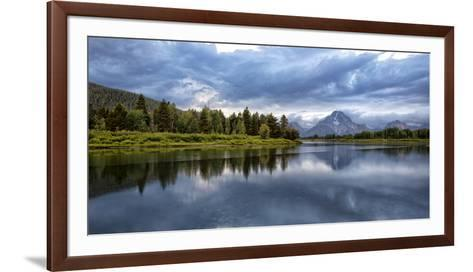 Wyoming. Oxbow Bend of the Snake River-Jaynes Gallery-Framed Art Print