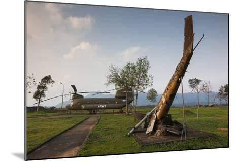 Vietnam, Dmz Area. Quang Tri Province, Khe Sanh, Fch-47 Chinook Helicopter-Walter Bibikow-Mounted Photographic Print
