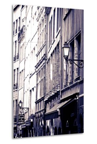 Restaurants and Galleries in Old Town Vieux Lyon, France-Russ Bishop-Metal Print