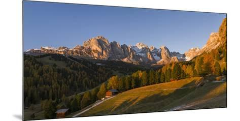 Geisler Mountain Range, Odle in the Dolomites, Groeden Valley, Val Gardena, South Tyrol, Alto Adige-Martin Zwick-Mounted Photographic Print