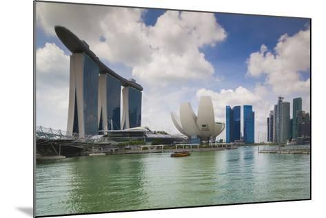 Singapore, Cityscape Full of Unique Skyscrapers-Walter Bibikow-Mounted Photographic Print