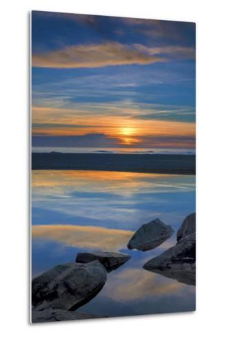 New Jersey, Cape May National Seashore. Seashore Landscape-Jaynes Gallery-Metal Print