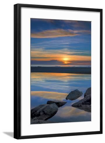 New Jersey, Cape May National Seashore. Seashore Landscape-Jaynes Gallery-Framed Art Print