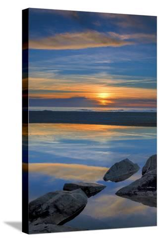 New Jersey, Cape May National Seashore. Seashore Landscape-Jaynes Gallery-Stretched Canvas Print