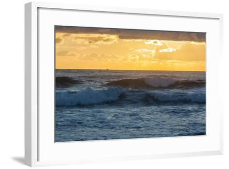 Dawn over the Atlantic Ocean at Coast Guard Beach , Eastham, Massachusetts-Jerry and Marcy Monkman-Framed Art Print