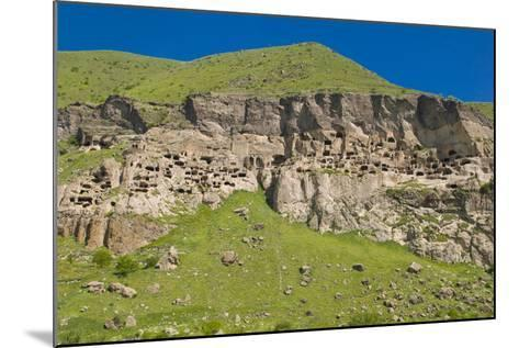 Vardzia Cave City, Monastery in Georgia, Caucasus-Michael Runkel-Mounted Photographic Print