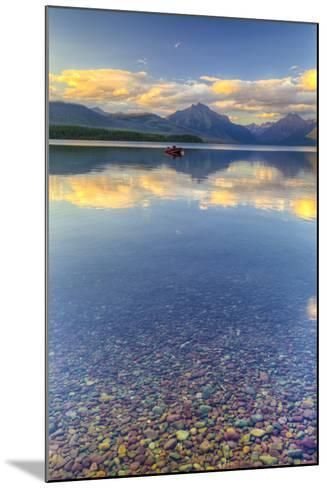 Montana, Glacier National Park. Lake Macdonald Landscape-Jaynes Gallery-Mounted Photographic Print