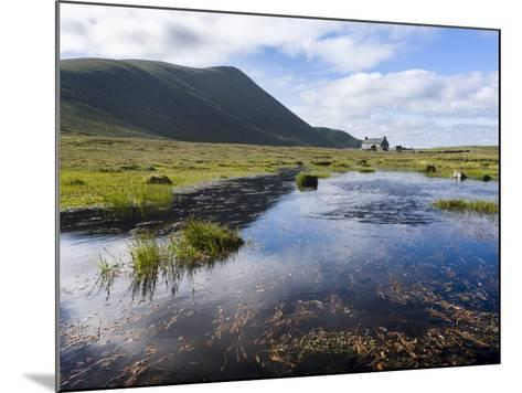 Foula Part of Shetland Islands, it Is One of Most Remote Permanently Inhabited Islands , Background-Martin Zwick-Mounted Photographic Print