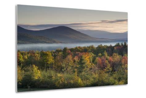 Fall Colors in the White Mountains, New Hampshire-Howie Garber-Metal Print