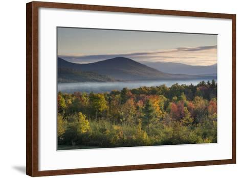 Fall Colors in the White Mountains, New Hampshire-Howie Garber-Framed Art Print
