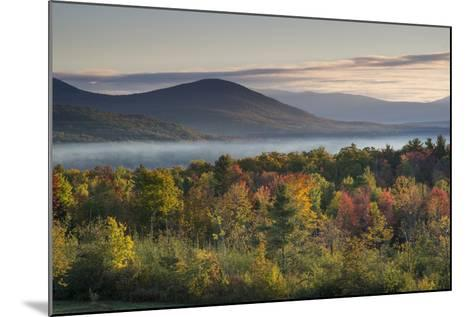 Fall Colors in the White Mountains, New Hampshire-Howie Garber-Mounted Photographic Print