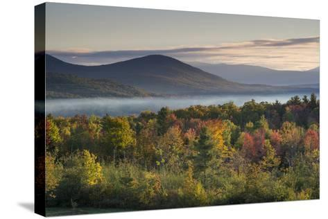Fall Colors in the White Mountains, New Hampshire-Howie Garber-Stretched Canvas Print