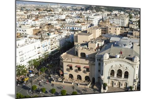Municipal Theatre, Avenue Habib Bourguiba, Tunis, Tunisia, North Africa-Nico Tondini-Mounted Photographic Print