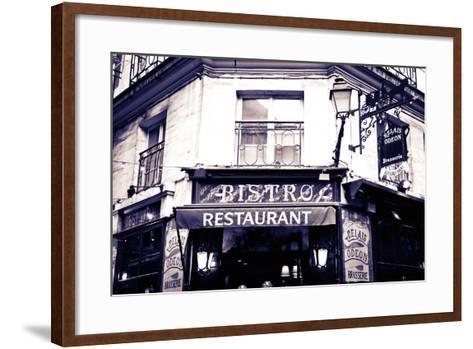 Relais Odeon Restaurant, Left Bank, Paris, France-Russ Bishop-Framed Art Print