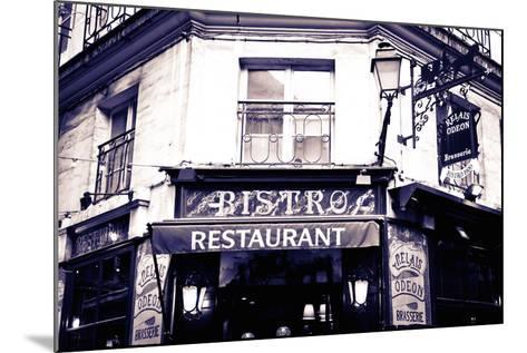 Relais Odeon Restaurant, Left Bank, Paris, France-Russ Bishop-Mounted Photographic Print