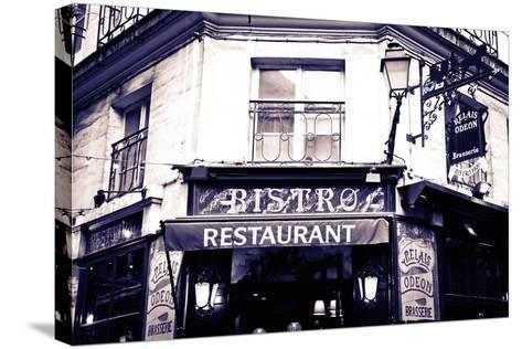 Relais Odeon Restaurant, Left Bank, Paris, France-Russ Bishop-Stretched Canvas Print
