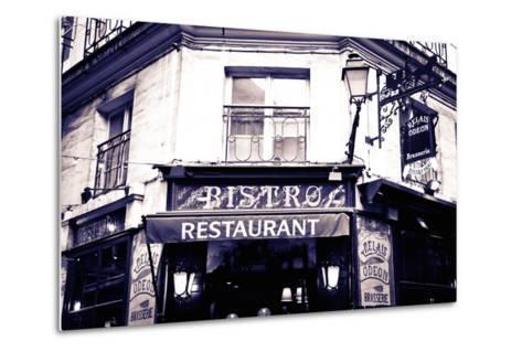Relais Odeon Restaurant, Left Bank, Paris, France-Russ Bishop-Metal Print