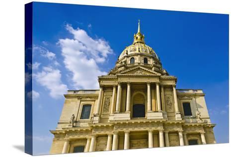 Gold-Domed Chapel of Saint-Louis, Les Invalides, Paris, France-Russ Bishop-Stretched Canvas Print