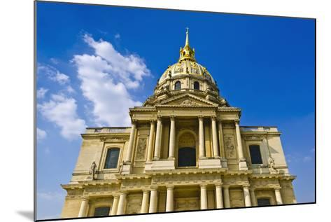 Gold-Domed Chapel of Saint-Louis, Les Invalides, Paris, France-Russ Bishop-Mounted Photographic Print