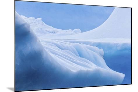 South Georgia Island. Iceberg Shapes and Hues-Jaynes Gallery-Mounted Photographic Print