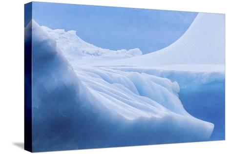 South Georgia Island. Iceberg Shapes and Hues-Jaynes Gallery-Stretched Canvas Print