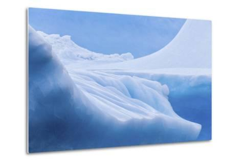 South Georgia Island. Iceberg Shapes and Hues-Jaynes Gallery-Metal Print