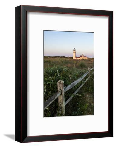 The Cape Cod Lighthouse,. Highland Light, in Truro, Massachusetts-Jerry and Marcy Monkman-Framed Art Print