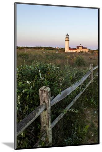 The Cape Cod Lighthouse,. Highland Light, in Truro, Massachusetts-Jerry and Marcy Monkman-Mounted Photographic Print