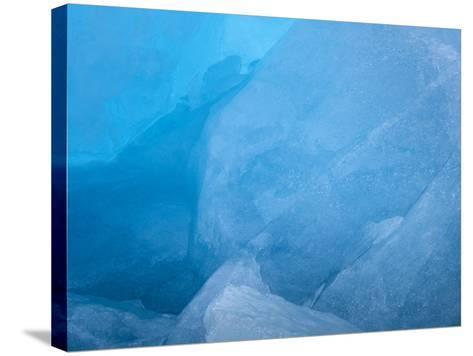 Arctic Ocean, Norway, Svalbard. Close-Up of Glacier Ice-Jaynes Gallery-Stretched Canvas Print