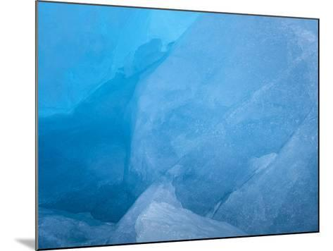 Arctic Ocean, Norway, Svalbard. Close-Up of Glacier Ice-Jaynes Gallery-Mounted Photographic Print