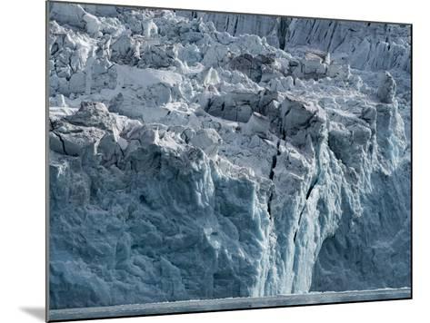 Arctic Ocean, Norway, Svalbard. Glacier Face-Jaynes Gallery-Mounted Photographic Print